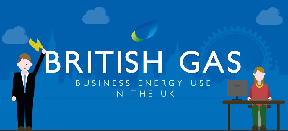 Energy Use Infographic - British Gas Business