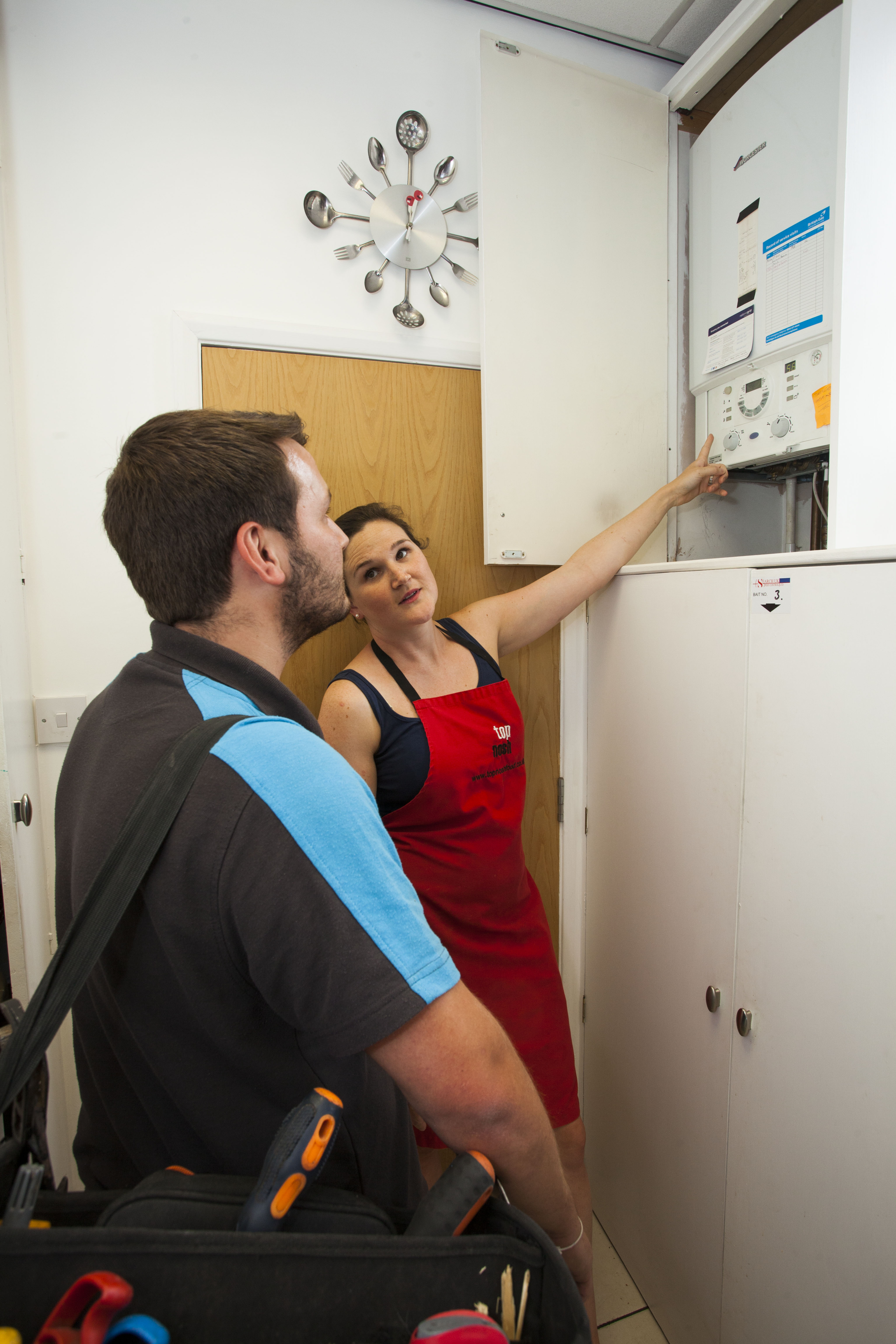 Gas Safe Engineers with British Gas Business