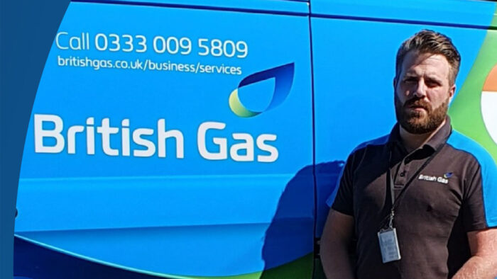 British Gas engineer Tom Birkett